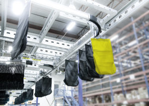 Flexible Taschensorter-Lösung für E-Commerce-Fulfillment