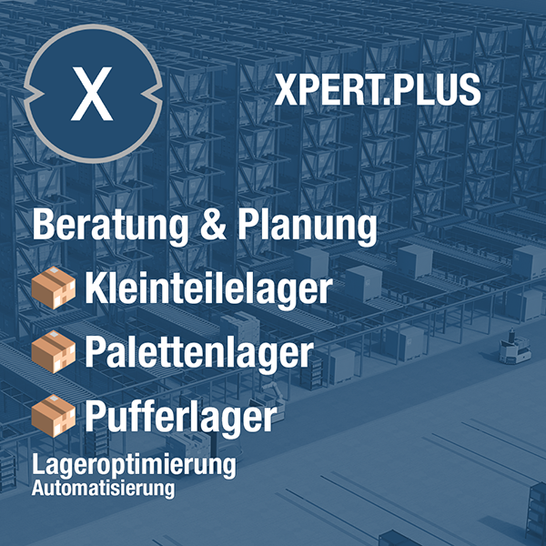 Xpert.Plus Pufferlager Lageroptimierung - Hochregallager wie Palettenlager Beratung und Planung